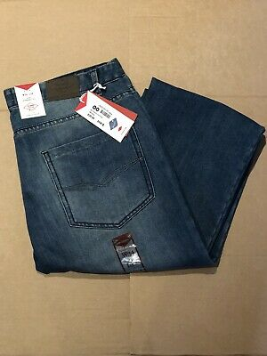 Mens W34 L30 New Genuine Lee Cooper Button Fly Classic Straight Fit Jeans Pants  • 27.95£