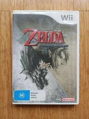 AU19.99 • Buy The Legend Of Zelda Twilight Princess Nintendo Wii Complete With Booklet