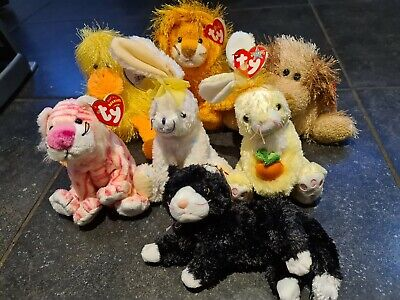 TY Beany Babies X7 Various Tagged Including Punkies • 9£