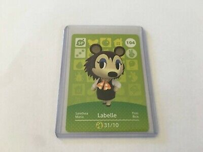 AU5 • Buy Animal Crossing Amiibo Card - Labelle