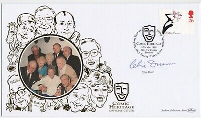 £59.95 • Buy Clive Dunn Dads Army Comedy Signed Authentic Autographs Genuine Benham FDC