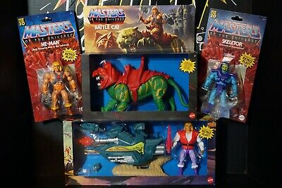 $45 • Buy 2020 Masters Of The Universe Prince Adam Sky Sled Battle Cat He-Man Skeletor