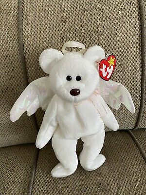 TY Beanie Babies 'HALO 'Brown Nose  Bear - WITH TAGS Mint Condition  • 500£