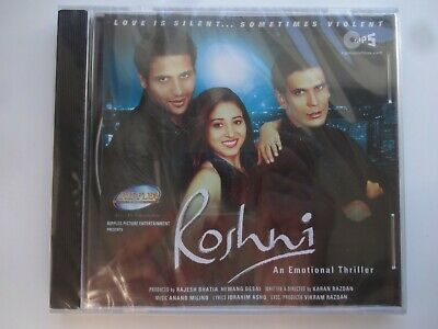 ROSHNI ~ Bollywood Soundtrack Hindi CD ~ Anand Milind ~ 2002 ~ New • 4.95£