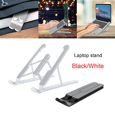 AU21.59 • Buy Adjustable Folding Aluminum Tablet Bracket Mount Desktop Laptop Stand Holder AU❀