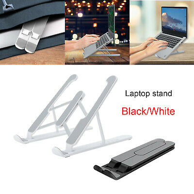 AU11.99 • Buy Laptop Stand Notebook Foldable Adjustable Table Portable Lazy Computer Desk