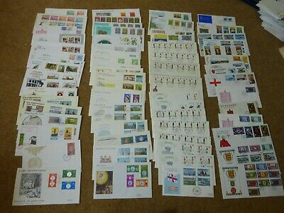 Excellent Collection 1969-81 Guernsey FDCs - All Spec HS (65) - Rf000 • 7£