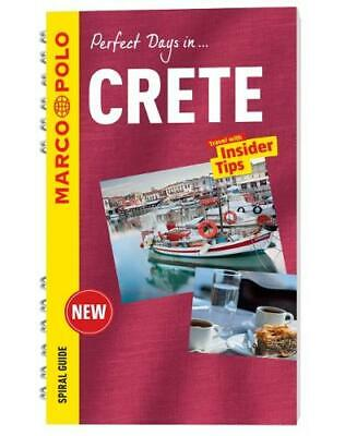 Crete Marco Polo Travel Guide - With Pull Out Map (Marco Polo Spiral Guides), Ma • 4.61£
