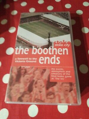 Stoke City Video, The Boothen Ends • 5.60£