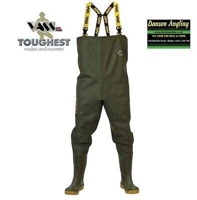 Vass-Tex 700E Nova Heavy Duty PVC Chest Wader New Edition All Sizes • 79.99£