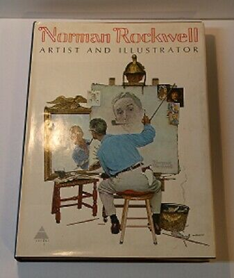 $ CDN52.66 • Buy Norman Rockwell Artist And Illustrator Coffee Table Book By Harry N. Abrams 1970