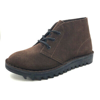 AU159.99 • Buy Genuine Rollers Ripple Sole Desert Boots DB's Rollers New Brown Suede AC/DC  👌