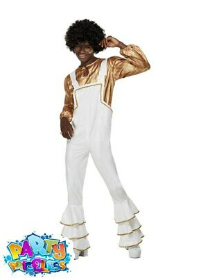 Adult Mens 1970s Super Trooper Glam Costume Disco Man Abba Fancy Dress Outfit  • 29.99£