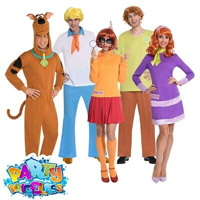 £26.99 • Buy Adults Scooby Doo Costume Fred Shaggy Velma Daphne Book Week Fancy Dress Outfit