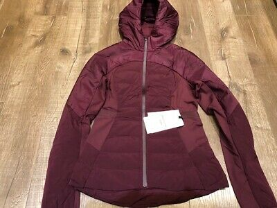 $ CDN160 • Buy Lululemon Down For It All Jacket Size 4 NWT