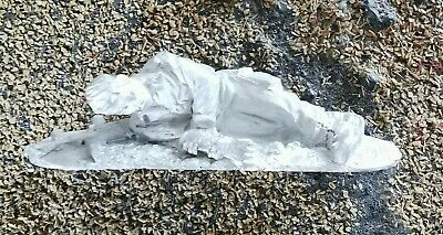 28mm WW2 British Airborne HQ Paratrooper Wounded Casualty NCO Doctor Arnhem • 3£