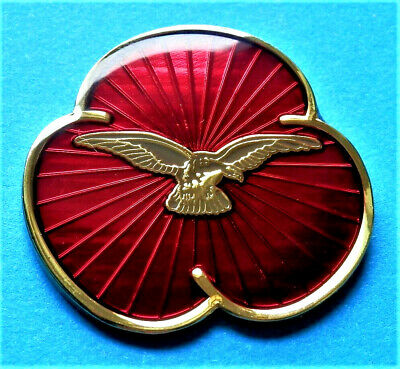 2020 Brand New Beautiful Commemorative P. Day Enamel Pin Badge Brooch Eagle Raf  • 4.99£