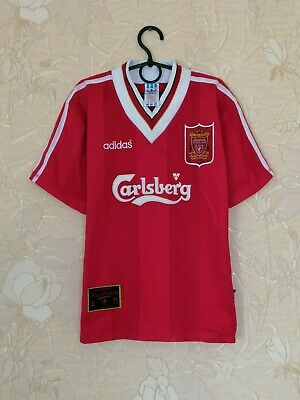 Liverpool 1995 - 1996 Home Football Shirt Jersey Adidas Vintage Size XS • 63.84£