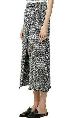 AU34.99 • Buy VIKTORIA & WOODS WOMENS FREYA WRAP SKIRT STEEL SZ 0 Or AU 6 NEW + TAGS RRP $340