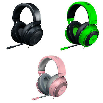 AU157.99 • Buy Razer Kraken Gaming Headset 50mm 7.1 Surround Gel-Infused Oval Ear All Colours