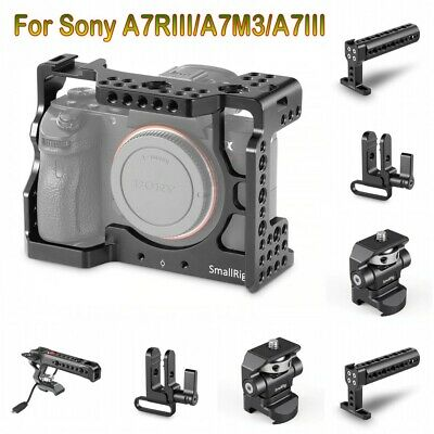 $ CDN126.94 • Buy SmallRig Cage Kits/NATO Top Handle/Monitor Mount For Sony A7RIII/A7M3/A7III