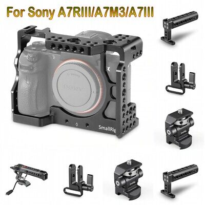 $ CDN200 • Buy SmallRig Cage Kits/NATO Top Handle/Monitor Mount For Sony A7RIII/A7M3/A7III