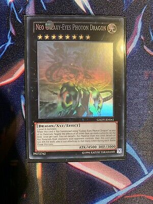 AU150 • Buy Neo Galaxy-Eyes Photon Dragon - GAOV-EN041 - Ghost Rare N/M