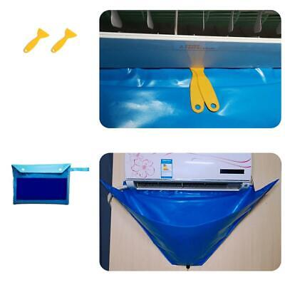 AU27.09 • Buy Air Conditioner Cover Cleaning Washing Clean Bag Waterproof Protector Household