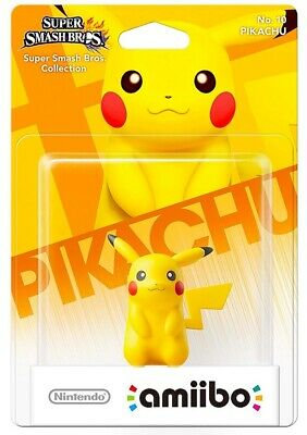 AU49.95 • Buy BRAND NEW Pikachu Amiibo Figure Super Smash Bros. Collection No. 10