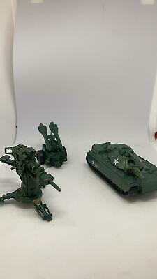 $ CDN76.46 • Buy 1983 Vintage GI Joe Diecast Metal: FLAK Cannon + MMS Missile And MOBAT Tank RARE