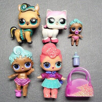 $ CDN23.73 • Buy MGA LOL Surprise Doll Figures Lot Glitter Stardust Hops Lucky Luxe