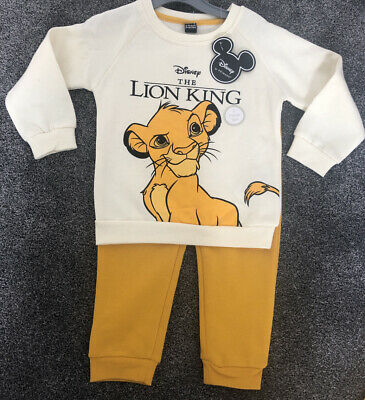 BNWT Primark Disney THE LION KING SIMBA Baby Unisex Outfit Set Various Ages • 11£