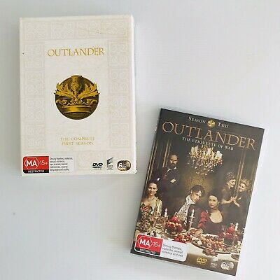 AU40 • Buy OUTLANDER Season ONE + OUTLANDER Season TWO DVD - Region 4 - FREE POST