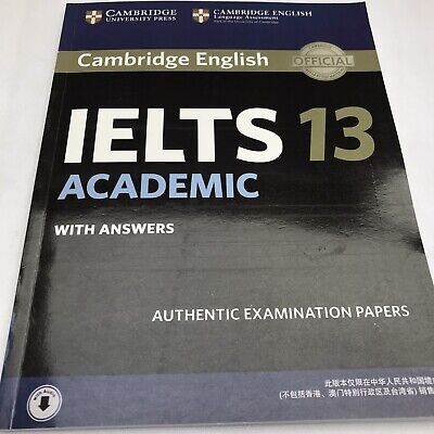 £18 • Buy Cambridge IELTS 13 Academic Student's Book With Answers Authent...9781108619417