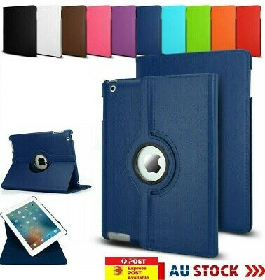 AU11.99 • Buy    Apple 360 Rotate Leather Case Cover IPad Air 1 2 3 4 5 6 Mini 9.7 10.2 11 Pro