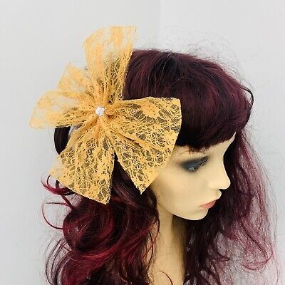 £3.99 • Buy 80s Hair Clip, 80's Large Bow, Hen Party, 80s Pop Star, Dance REDUCED TO CLEAR