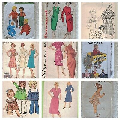 Style Simplicity Buttericks Etc Low Price Sewing Patterns Child Adult Men Women  • 2£