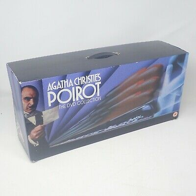 Agatha Christie's Poirot: The Complete Collection (Box Set) 31 Discs DVD • 69.99£
