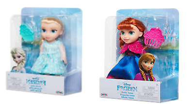 Disney Frozen 2 Petite Elsa & Anna Toddler Dolls Set ,come Play With Me Gift • 31.99£