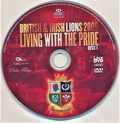 £1.37 • Buy British And Irish Lions 2009 Living With The Pride DVD 2 Disc Set