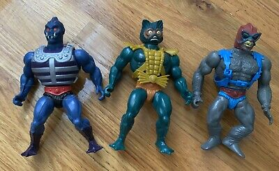 $39.99 • Buy Webster Mer-Man Stratos Vintage Masters Of The Universe Action Figures 80's Toys