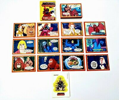 $14.99 • Buy Masters Of The Universe 1984 Topps Sealed Pack & 40 Cards & 1 Sticker Lot He-Man