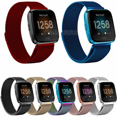 $ CDN10.14 • Buy For Fitbit Versa 2 Replacement Stainless Steel Wristband Band Strap Small Large