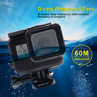 $ CDN24.09 • Buy 60m Waterproof Housing Protective Case For GoPro HERO(2018) / HERO7/6 /5 Black