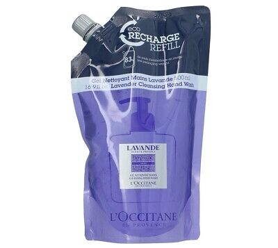 L'Occitane Lavender Cleansing Hand Wash 500ml Eco-refill Pack Brand New • 29.99£