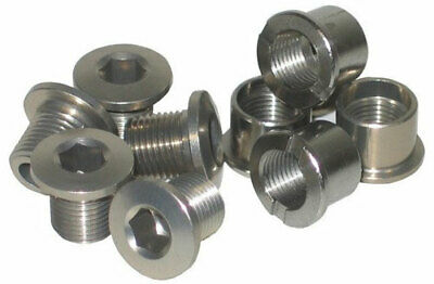 Single Bike Chainring Bolts Stronglight Set Of 5 Silver • 11.99£