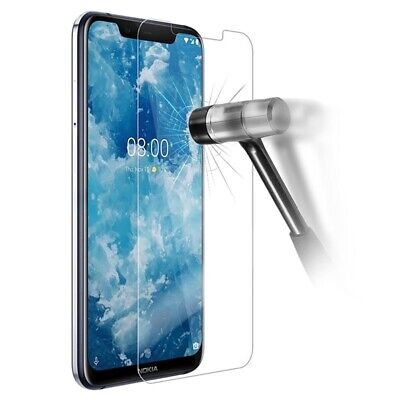 AU14.49 • Buy 9H Tempered Glass For Nokia 2.2 2.3 4.2 6.1 6.2 7.2 7.1 7Plus Screen Protector