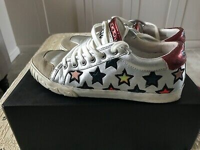 Ash Majestic Silver Star Trainers Size 37 / UK4 • 40£