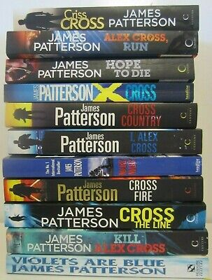 AU79.95 • Buy JAMES PATTERSON, ALEX CROSS BOOKS X 11