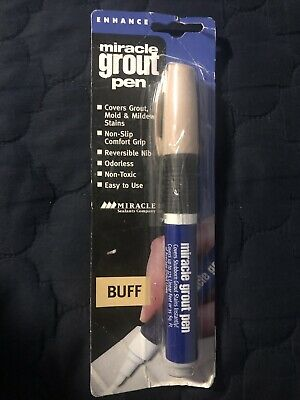 NEW Miracle Sealant GRT PEN BUF6 Grout Pen, Buff GROUT CLEANER PEN 7755937 • 7.48£